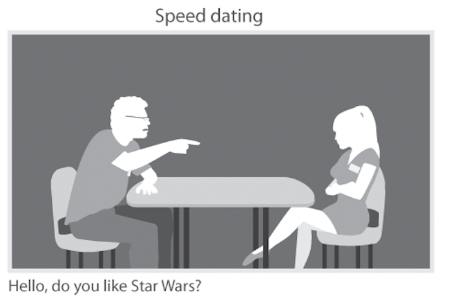 how do geeks flirt