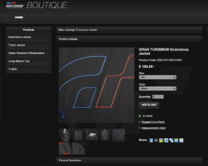 Gran Turismo Opens Online Boutique For Gaming Gear