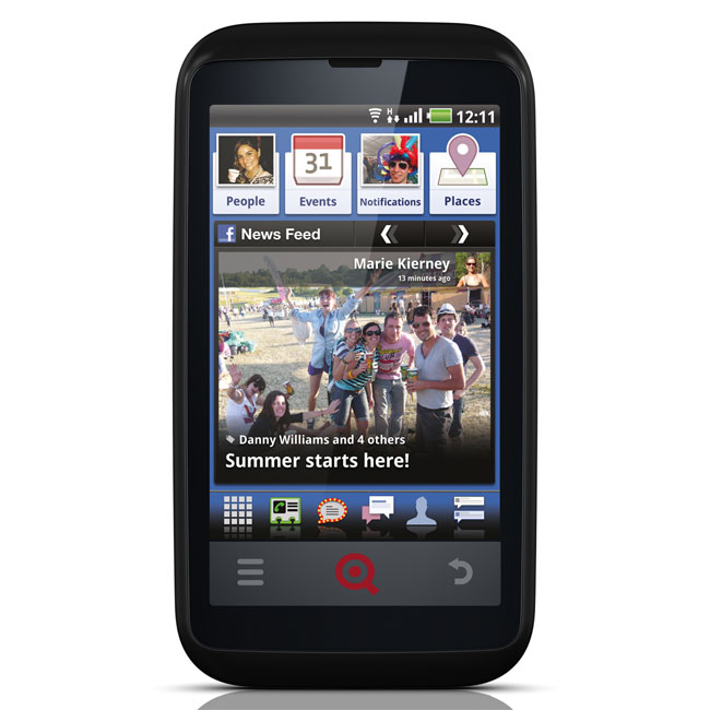 INQ Cloud Touch Facebook Smartphone