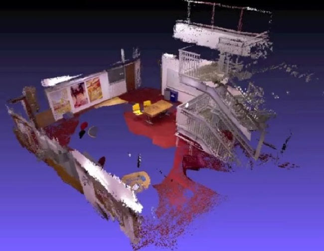 Kinect Equipped Quadrocopter Creating 3D Maps