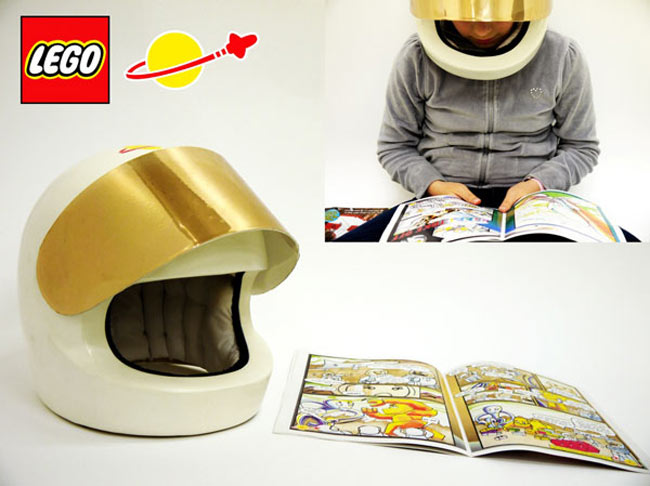 Lego Helmet Book Reader