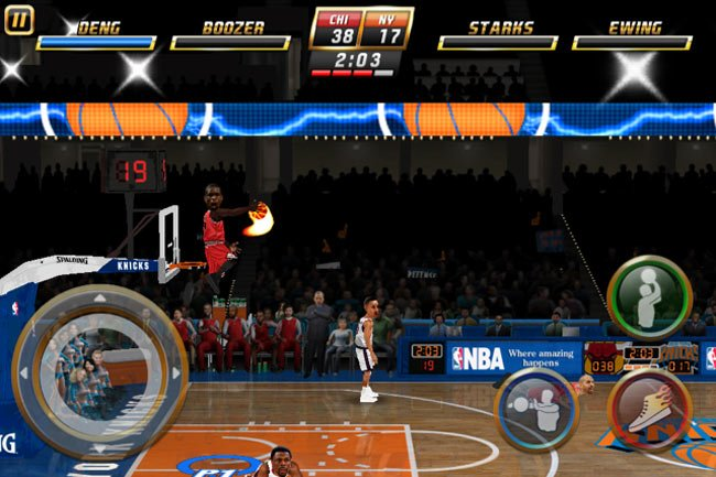 NBA Jam iPad Multiplayer