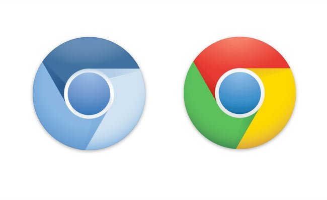 New Chrome Logo