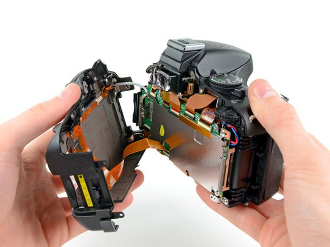 Nikon 5100 teardown