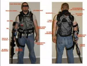 XIO Ultimate FPS Virtual Reality Gaming Exoskeleton Prototype (video)