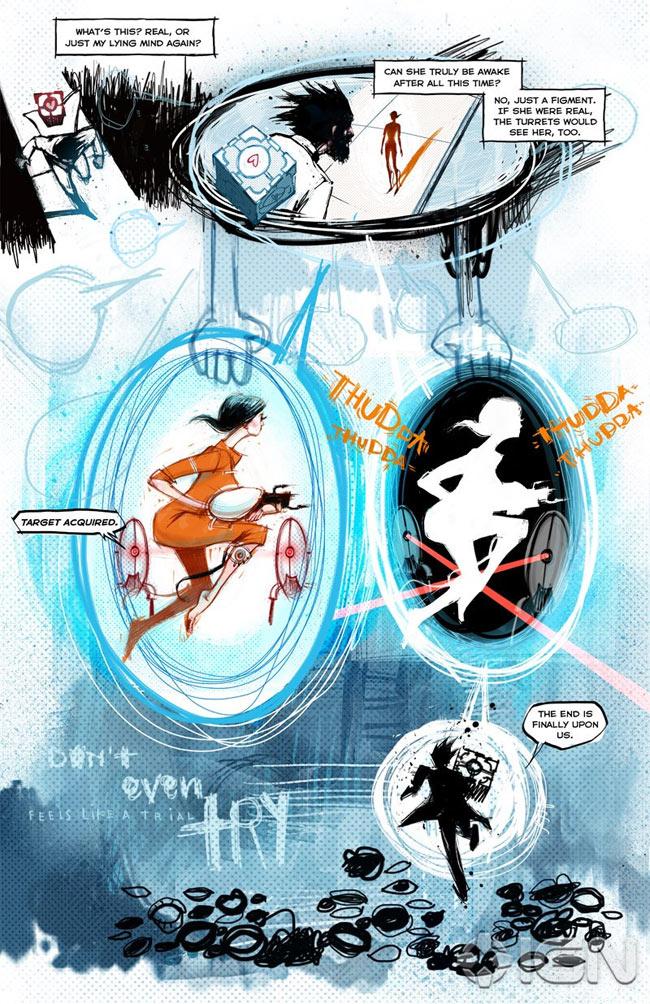 Portal 2 comic