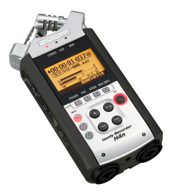 Samson Zoom H4n digital recorder