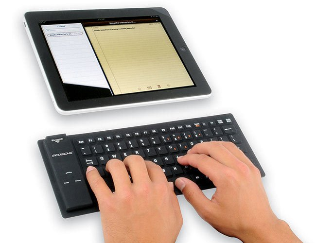Scosche freeKEY Flexible Keyboard