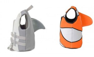 Sea Squirt Flotation Vests Keeps The Tots Happy At Sea