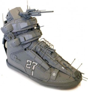 Battleship Shoe Is Ready For War