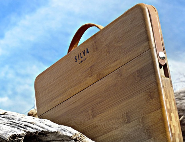 Silva Custom Bamboo Macbook Case