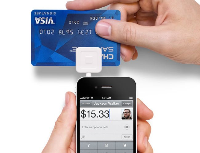 Square Iphone Credit Card Payment System Arrives In Apple
