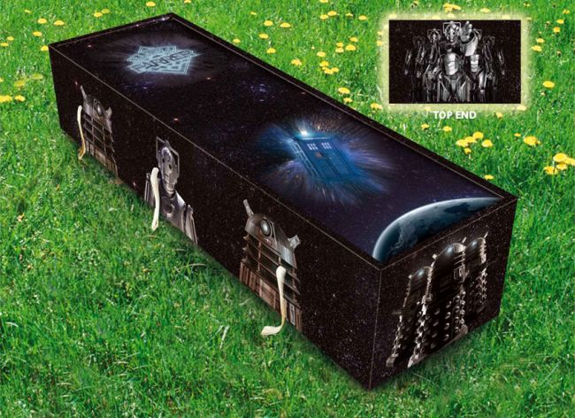 Time Lord coffin