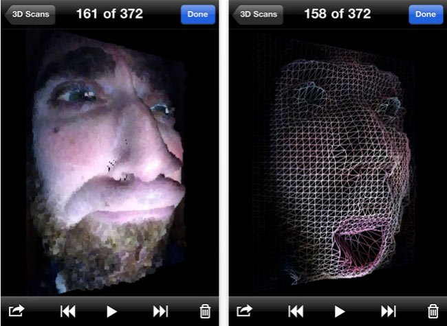 Trimensional 3d Scanner App For Iphone Video