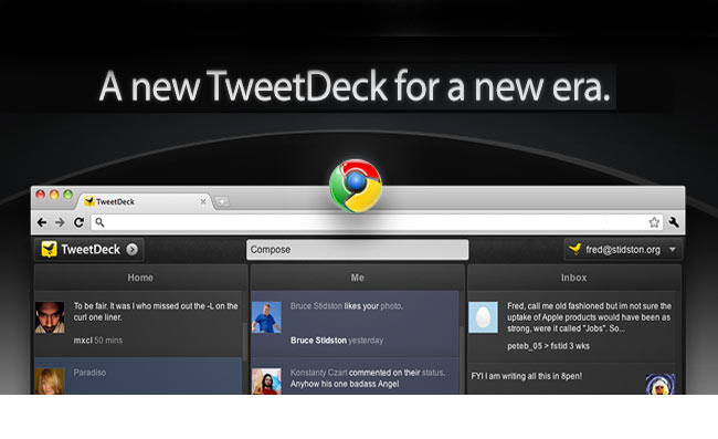 Tweetdeck HTML 5 Web App