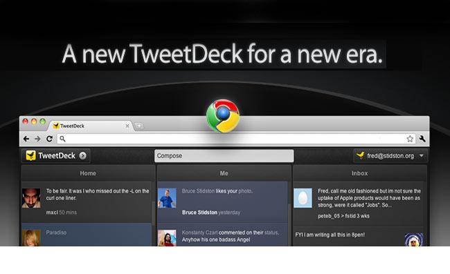 Tweetdeck HTML 5 Web App
