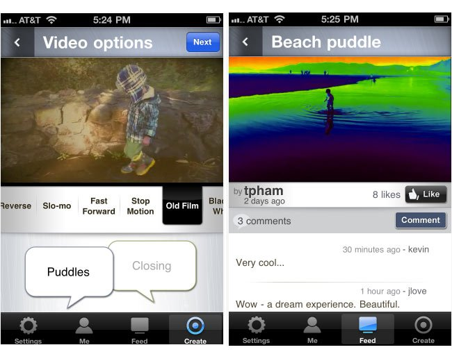 Vlix iPhone App