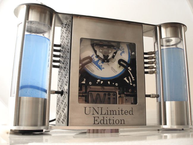 Wii Watercooler UNLimited Edition Case Mod
