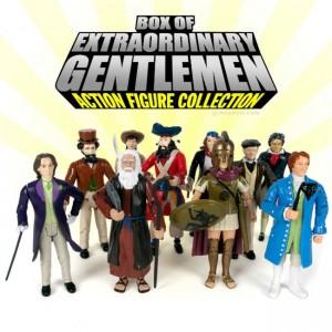 Box Of Extraordinary Gentlemen Features Moses, Blackbeard, Etc.