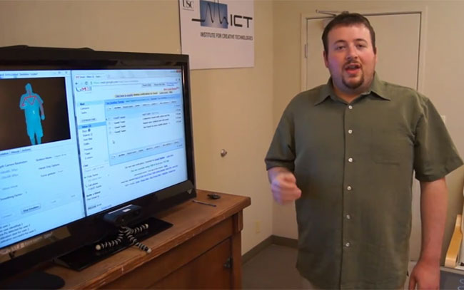 Gmail Motion Kinect Hack