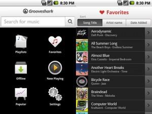 Grooveshark Android