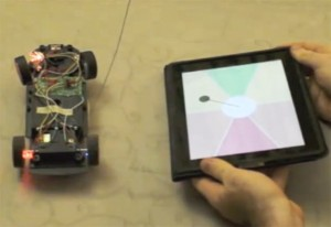 iPad And Kinect Combine To Steer RC Car