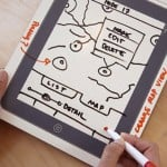 iPad Dry Erase Board