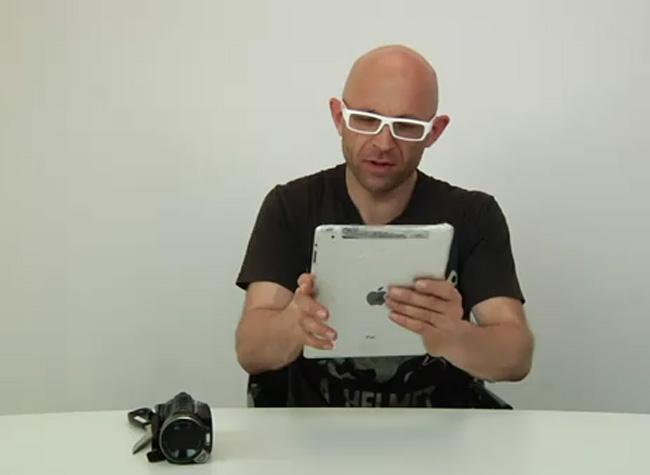 iPad 2 X-Ray hack
