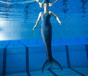 The Strange Tale Of An Artificial Mermaid Tail
