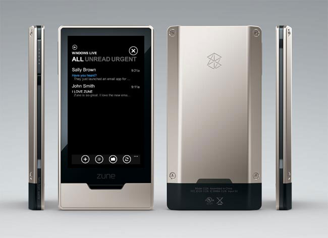 Microsoft Zune HD Gets Official Email App