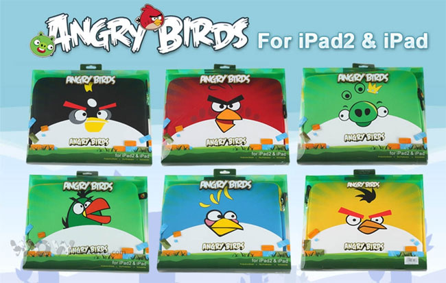 Angry Bird iPad Case