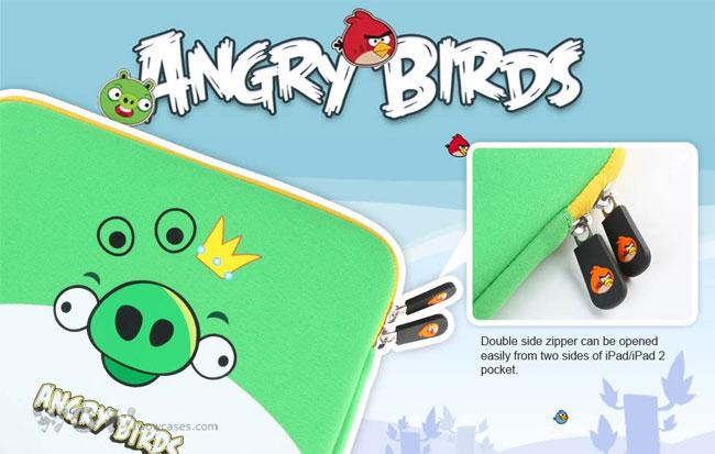 Angry Bird iPad Case