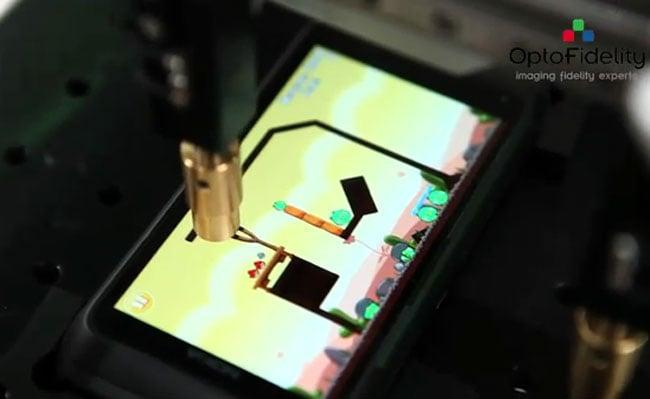 Angry Birds Robot