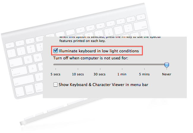 Apple Backlit Keyboard