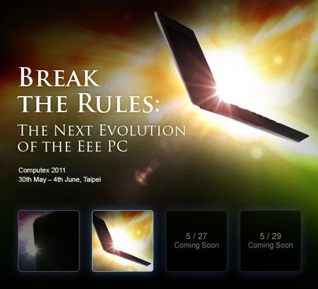 Asus Eee PC X101 MeeGo Netbook Unveiled