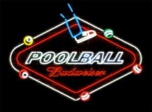 Budweiser PoolBall