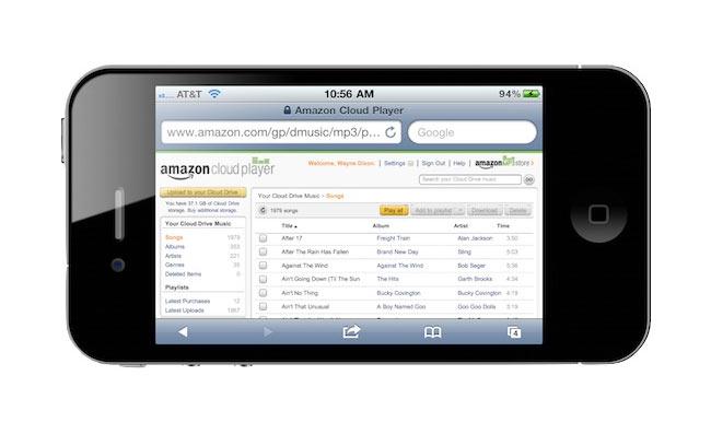 Cloud Player iOS