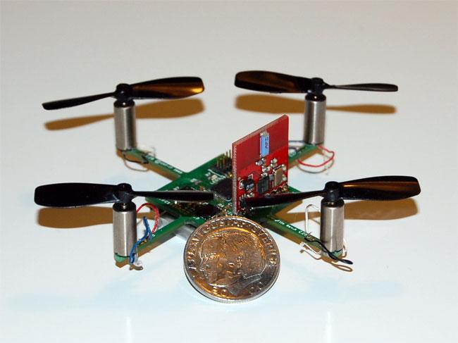 CrazyFlie Barebones Quadrocopter