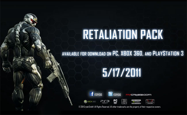 Crysis 2 Retaliation Map Pack DLC