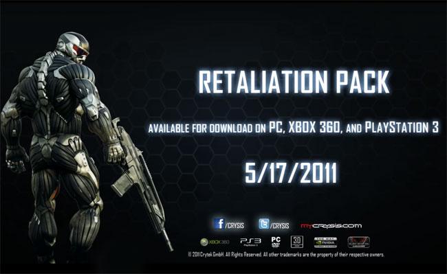 Crysis 2 Retaliation Map Pack DLC