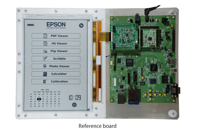 Epson, E Ink Partnership