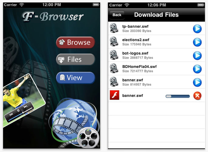 F-Browser Flash iOS
