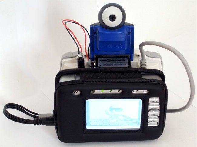 Gameboy 8-bit Camcorder