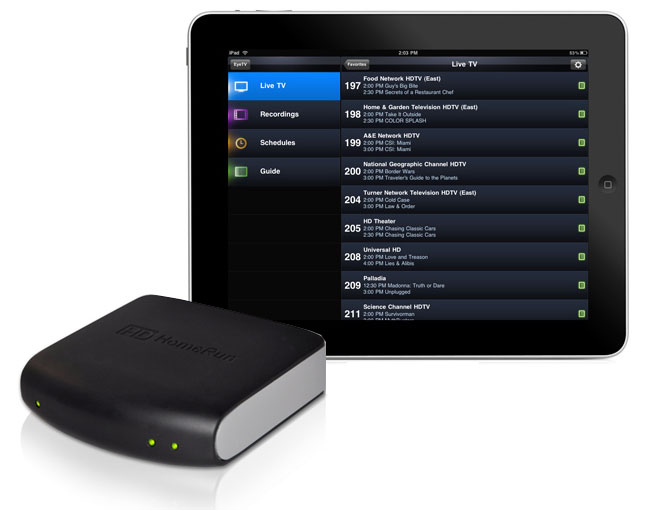 HDHomeRun Streams Live TV Direct To Your iPad