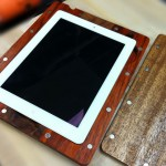 Handmade Wooden iPad 2 Case