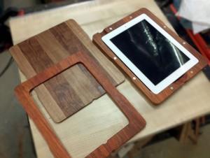 Handmade Wooden iPad 2 Cases