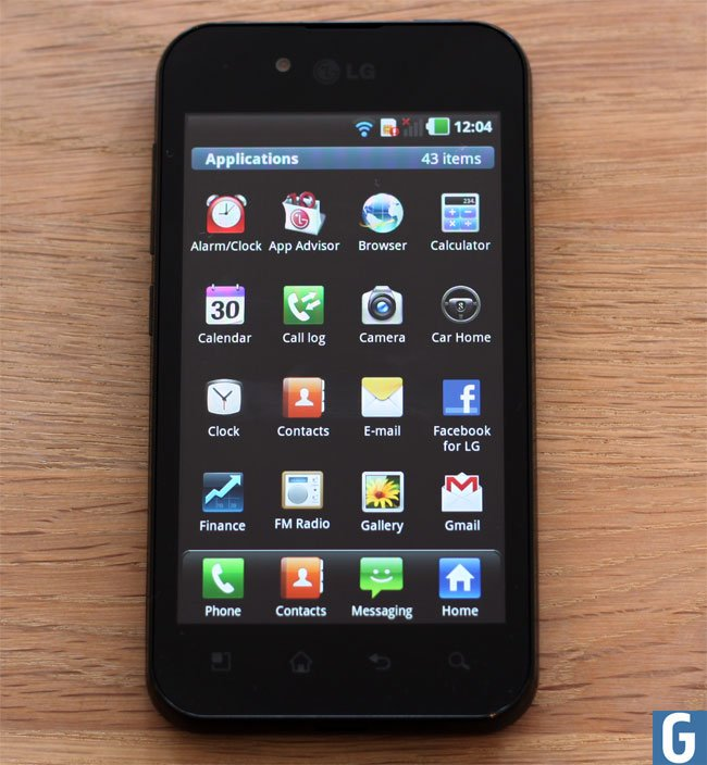 LG Optimus Black Android