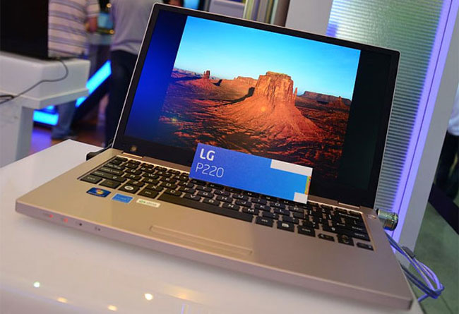 Lg S P220 Laptop Looks Like A Macbook Pro