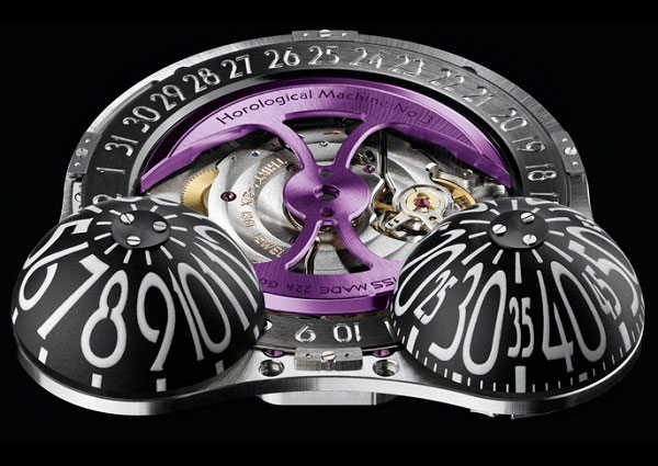 MB&F HM3 Frog Zr Watch