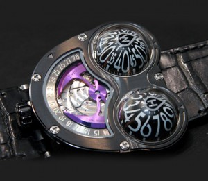 HM3 Frog Zr Watch Created By MB&F